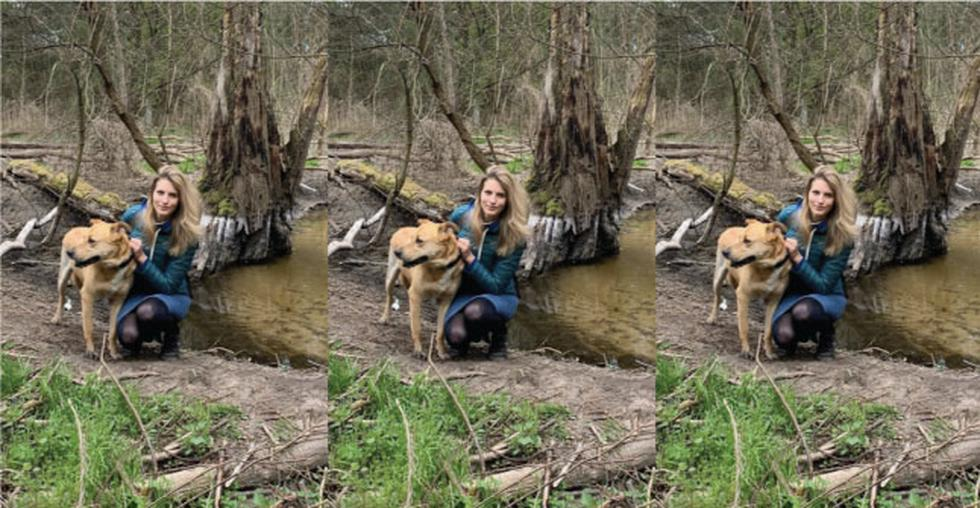 Polonia: Modelo adoptó a un perro y semanas después el can le desfiguró el rostro de un mordisco