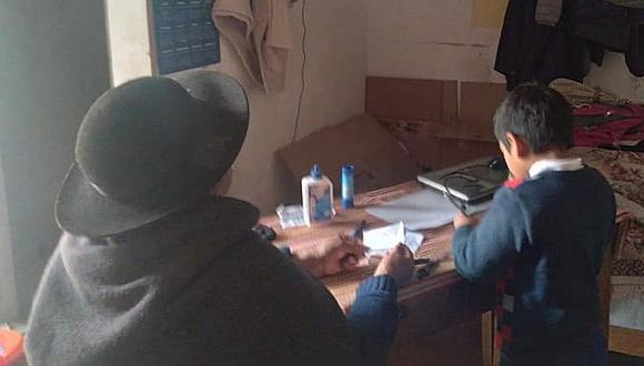 Arequipa: Defensoría pide atender problemas de conectividad que sufren los escolares (Foto referencial).