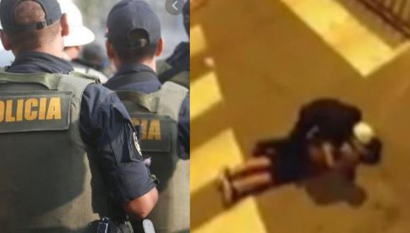 Autoridad reclamó a infractor por no acatar cuarentena. (Captura)