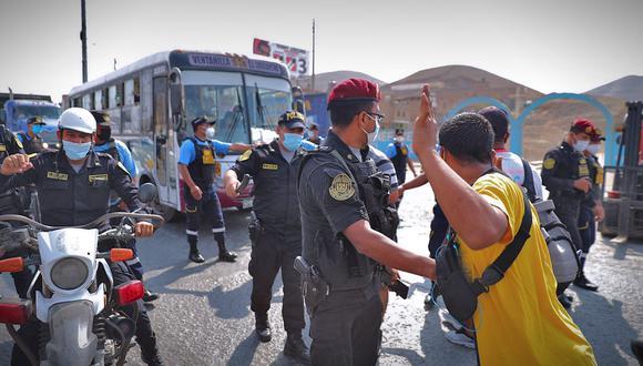 El último paro de transportistas se dio este año, pese al estado de emergencia por el COVID-19. (Foto: Hugo Curotto / @photo.gec/ archivo GEC)