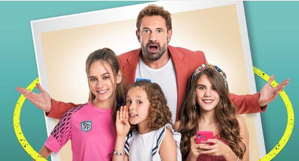 """""""Soltero con hijas"""" es una historia que gira alrededor de """"Nacho"""", un hombre soltero y sin preocupaciones cuya vida cambia de la noche a la mañana cuando tiene que hacerse cargo de sus tres sobrina (Foto: Televisa)"""