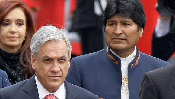 """Fuentes de la Cancillería indicaron que la declaración de Piñera pretendería """"presionar"""" a La Haya. ()"""