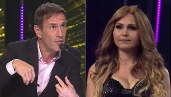 Mauri Stern criticó duramente a la imitadora de Thalía en Yo Soy. (Foto: Captura de video)