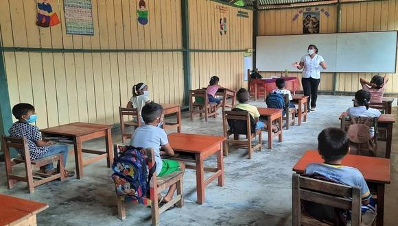 Escuelas habilitadas deben asegurar condiciones de bioseguridad y la conformidad de la comunidad educativa. (Foto: Minedu)