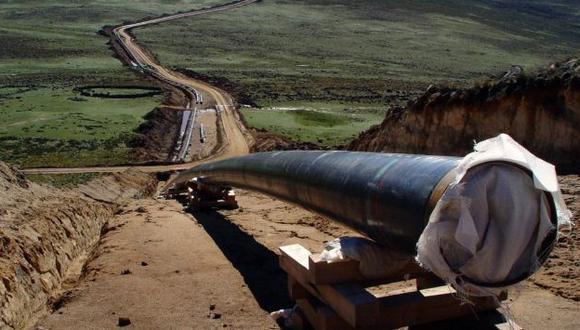 TIEMPO. Falta de gas y amenaza terrorista afectan el proyecto. (Difusión)