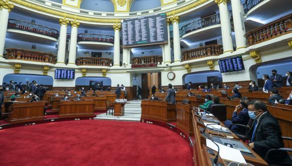 El Pleno del Congreso dejó en suspenso el proceso de elección de magistrados del Tc al no contar con los 87 votos requeridos. (Foto: Congreso de la República)