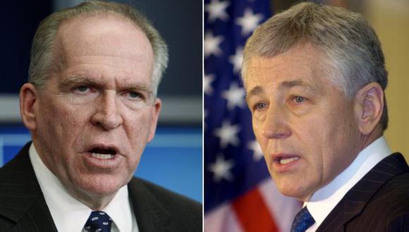 John Brennan y Chuck Hagel. (Reuters)