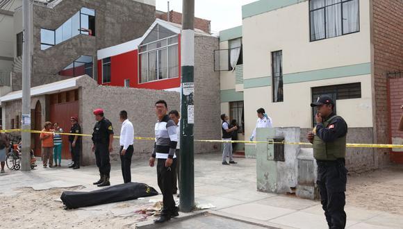 La Policía llegó y cercó la zona para investigar el crimen. (Imagen referencial/GEC)