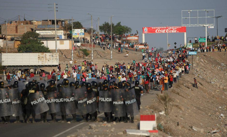 El proyecto Tía María ha originado varias protestas en Arequipa. (Foto: GEC)