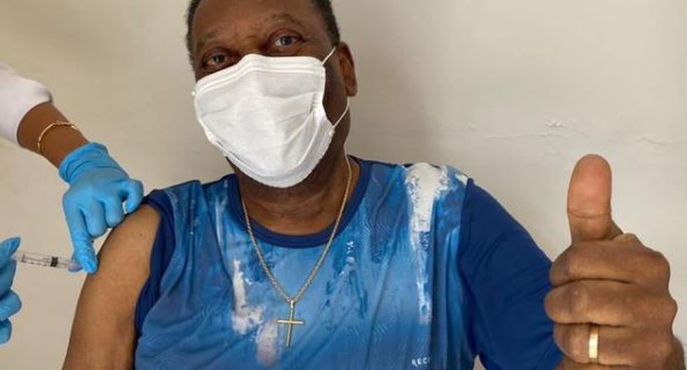 Pelé fue vacunado contra el coronavirus