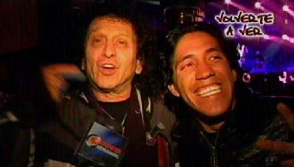 Juntos en show de Gian Marco. (Imagen de TV)
