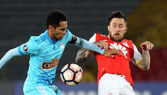 Lobatón trabajará en las divisiones menores de Sporting Cristal tras finalizar su etapa como futbolista. (EFE)