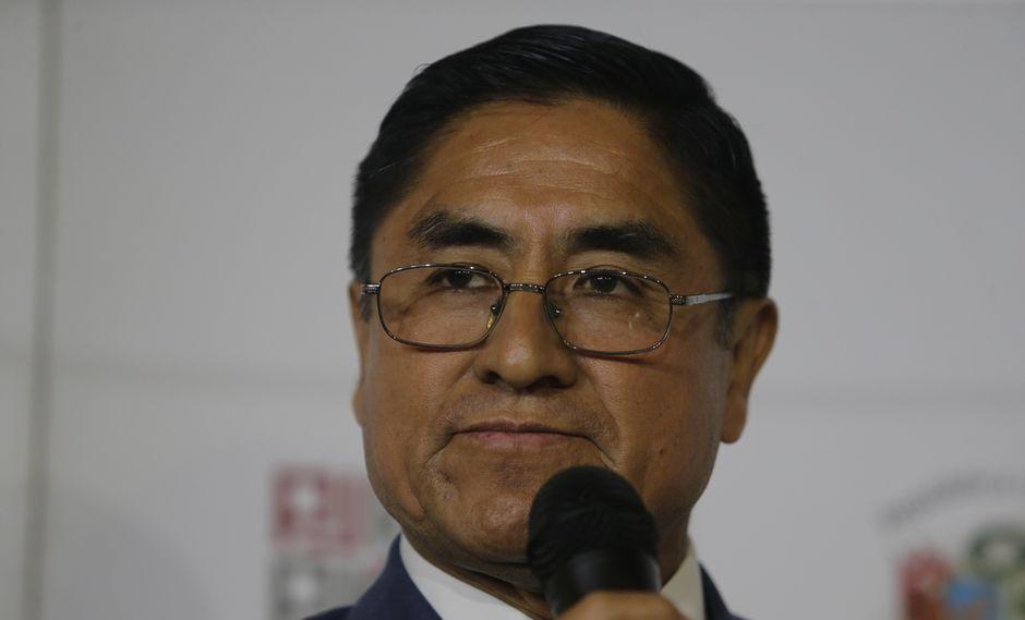 César Hinostroza es requerido por la justicia peruana por patrocinio ilegal, tráfico de influencias y negociación incompatible. (Foto: GEC)