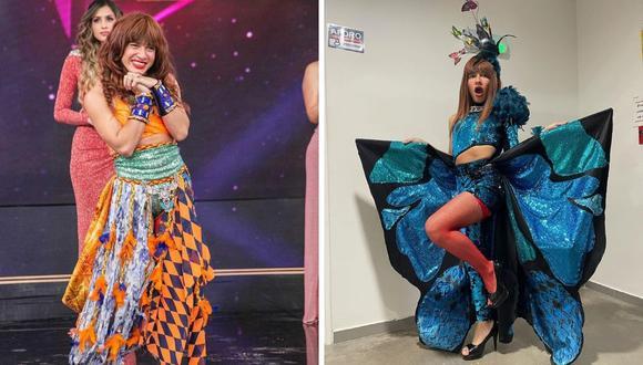 """""""La Uchulú"""" comentó que el reality de baile y canto ha sido una buena oportunidad para ella. (Foto: Instagram @lauchulu)."""
