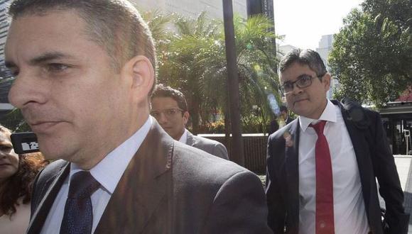 Rafael Vela y José Domingo Pérez. | Perú21