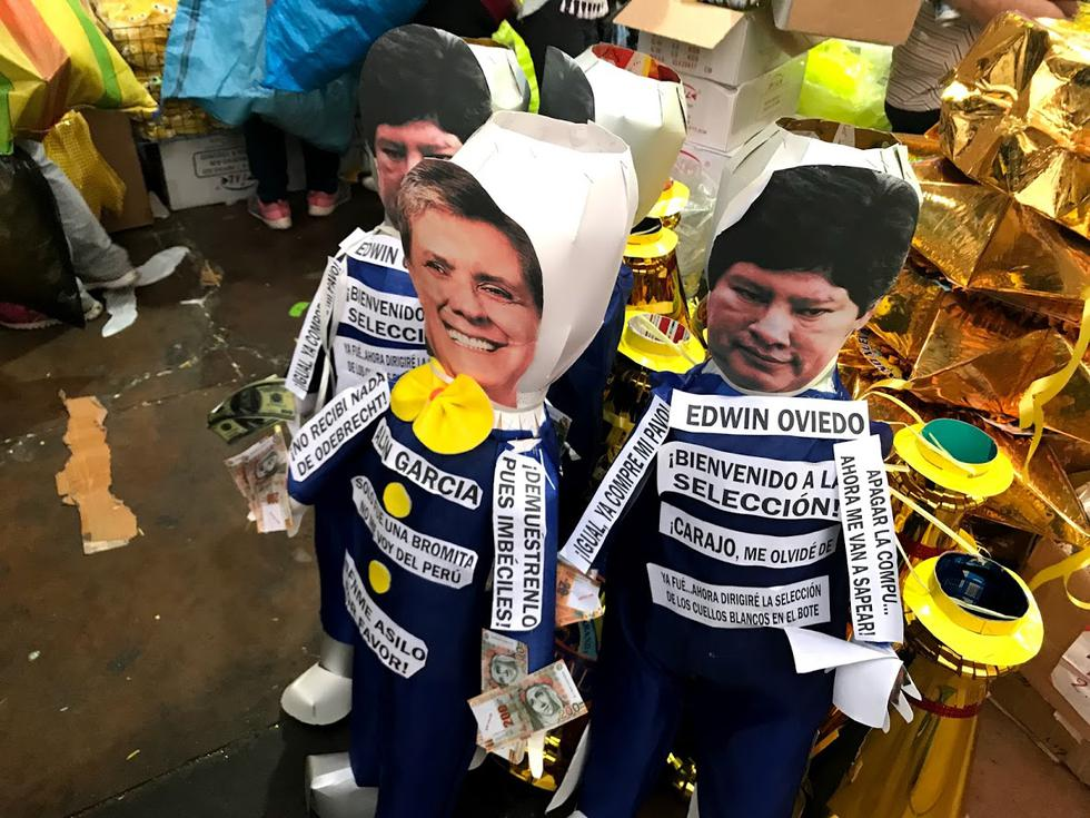 Año Nuevo 2019: Moíses Mamani, Keiko Fujimori y Alan García toman las calles de Lima. (Alvaro Treneman)