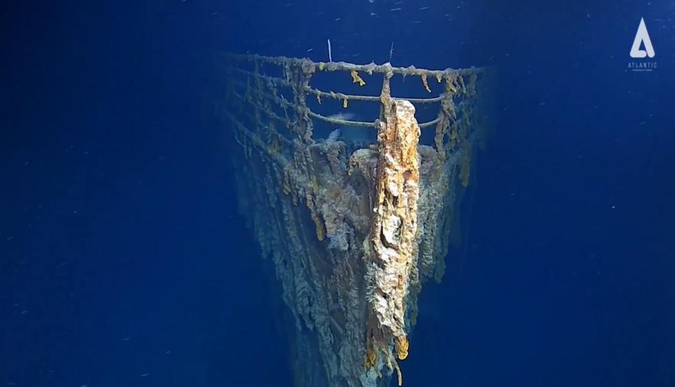 Titanic: revelan fotografías de los restos del barco por primera vez en catorce años. (Foto: AP)