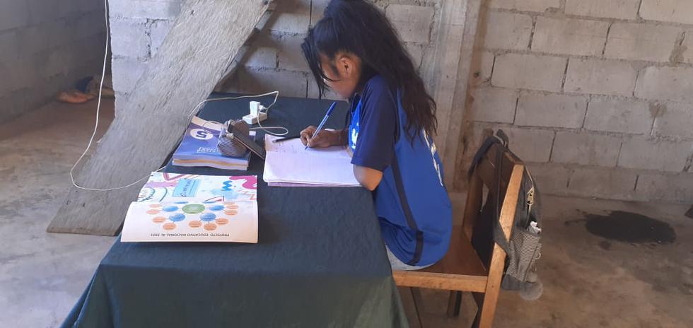 La estrategia Aprendo en casa llega aproximadamente a un millón de hogares, es decir, a 4.3 millones de personas. (Foto: Minedu)