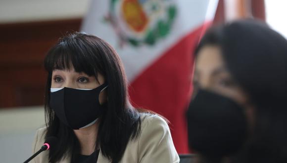 Mirtha Vásquez indicó que próximamente se anunciará la fecha en la que asistirá al Congreso para pedir el voto de confianza. (Foto: PCM)