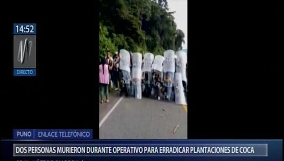 Hasta el momento se registra 6 heridos. (Video: Canal N)