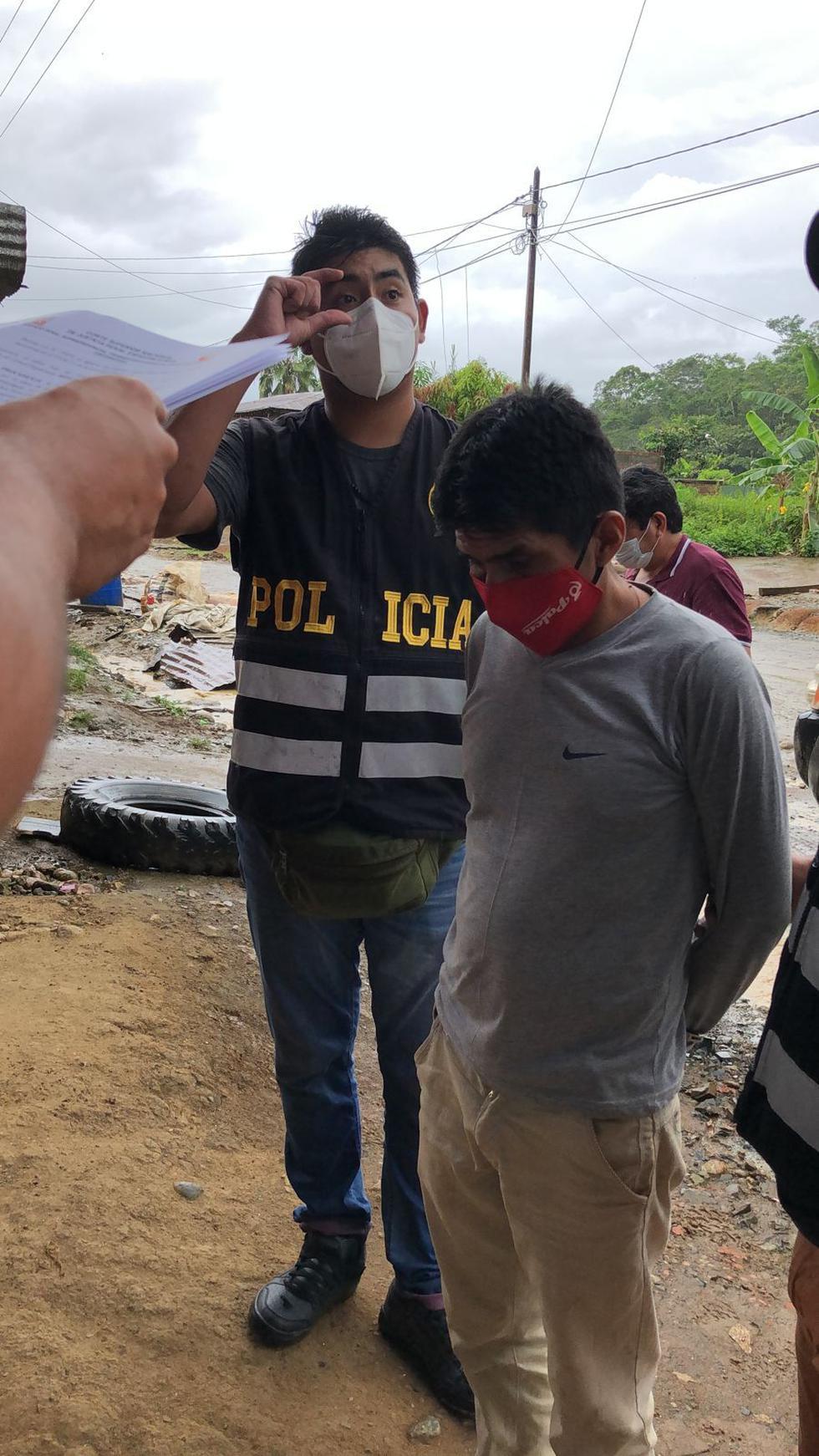 Hugo Sixto Campos Córdova  (a) ´Julio Chapo´ mando militar del grupo Sendero Luminoso que opera en el Vraem fue recapturado esta mañana.
