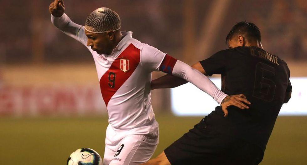 Hoy, Perú y Colombia se miden en el Estadio Monumental desde las 16:00 horas (18:00 horas Argentina) por un amistoso FIFA con la transmisión de Movistar Deportes y Latina. (Foto: AFP)
