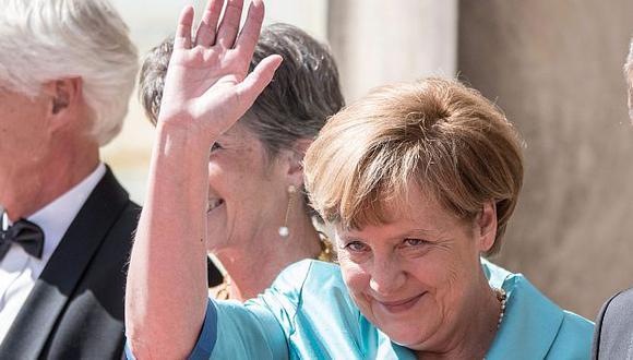Para Angela Merkel el matrimonio debe ser entre un hombre y una mujer. (EFE)