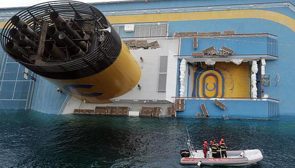 El dueño del barco espera pérdidas por US$90 millones debido a naufragio. (AP)