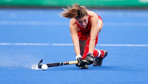 Chile busca el podio de hockey femenino. (Foto: Marcello Zambrana / Lima 2019)