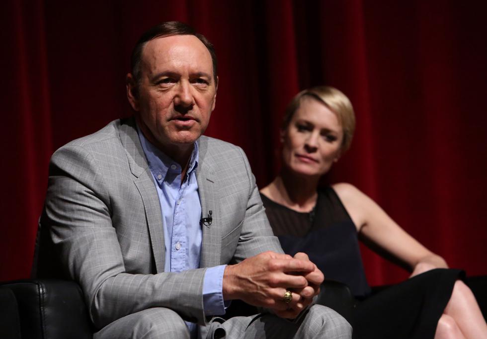El protagonista de 'House of cards' es investigado por las denuncias de acoso sexual en su contra. (Créditos: AFP)
