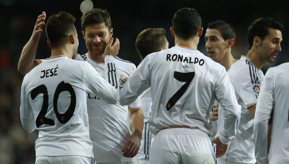 Real Madrid clasificó a las semifinales de la Copa Rey. (AP)