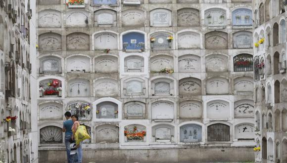 El cementerio El Ángel, ubicado en Barrios Altos, será cerrado el 1 y 2 de noviembre. (Mario Zapata)