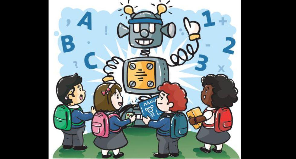 Cuánto por aprovechar de talleres de robótica. (Perú21)
