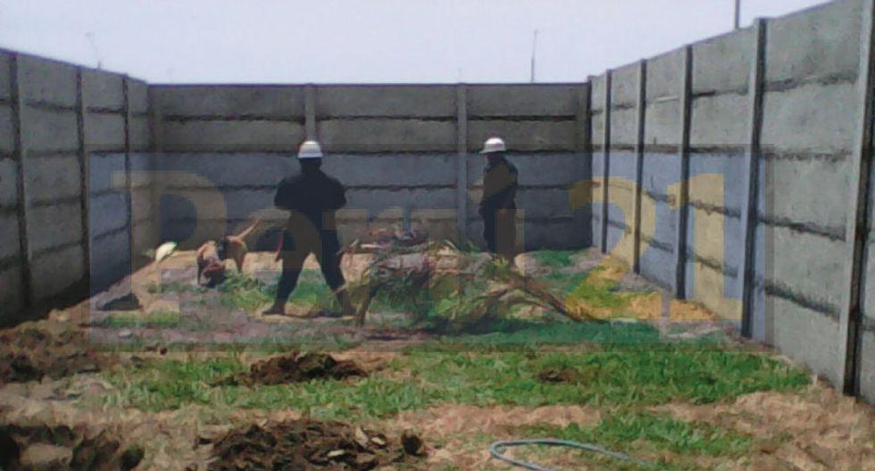 Agentes buscan el cuerpo de la desaparecida canadiense. (Perú21)