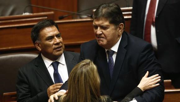 Alan García demanda sanción para los políticos y autoridades que recibieron dinero chavista (Geraldo Caso)