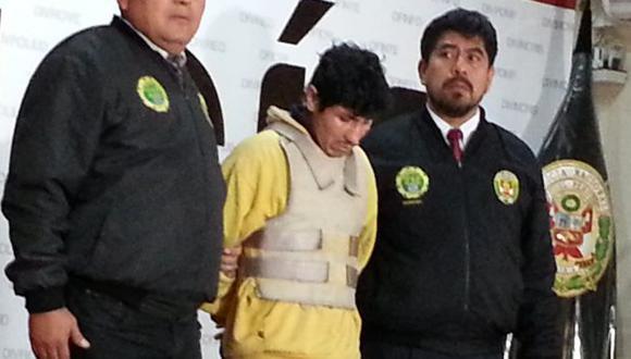 José Antonio Ramírez Mejía le provocó un fatal traumatismo abdominal a su pequeño. (Shirley Ávila)