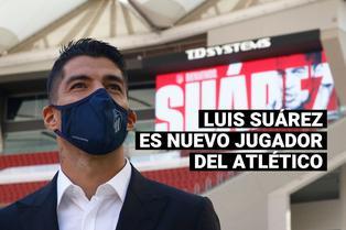 Luis Suárez firma contrato con el Atlético de Madrid por dos temporadas