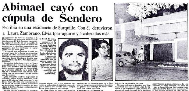 La noticia más esperada en 1992 ocurrió la noche del 12 de setiembre.