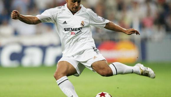 Roberto Carlos, lateral izquierdo del Real Madrid. (Fto: Getty Images)