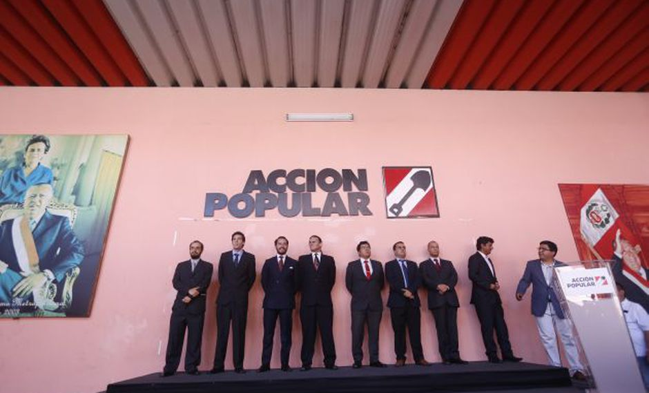 Acción Popular realizó un plenario nacional el jueves 19 de julio (Perú21).