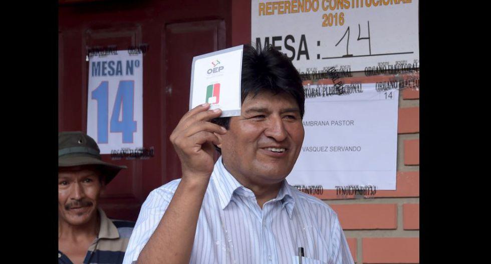 Evo Morales. (Foto: Agencias)