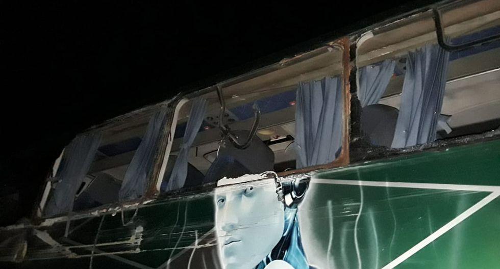 Un camión, cuyo conductor se dio a la fuga, habría causado el accidente. (Twitter)