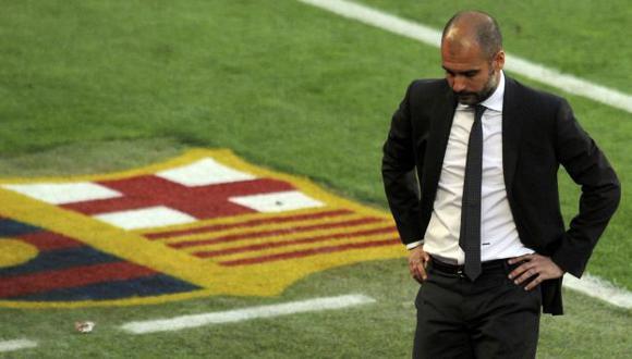 Guardiola aseguró que sus pupilos se levantarán. (Reuters)