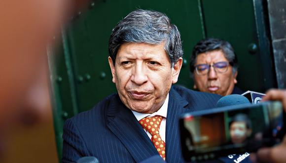 PONENTE. Ramos elaboró el proyecto de sentencia que sugería declarar infundada la demanda. (GEC)