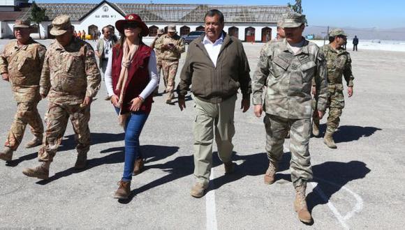 Jorge Nieto evita profundizar en su denuncia de presunto reglaje (Ministerio de Defensa)