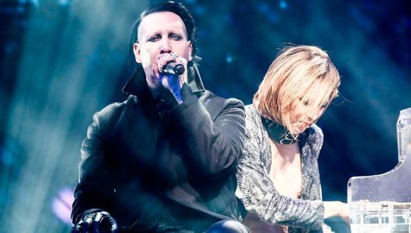 Marilyn Manson es investigado por la policía tras acusaciones de violencia doméstica. (Foto: AFP).
