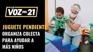 Vanessa Vásquez sobre colecta de Juguete Pendiente