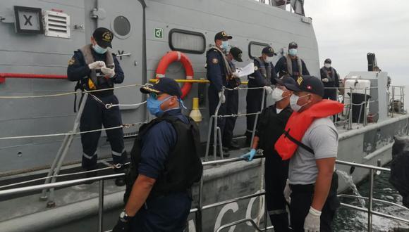 La Marina ha destinado aviones de exploración, patrulleros marítimas y unidades submarinas para supervisar nuestra área marítima. (Foto: Andina)