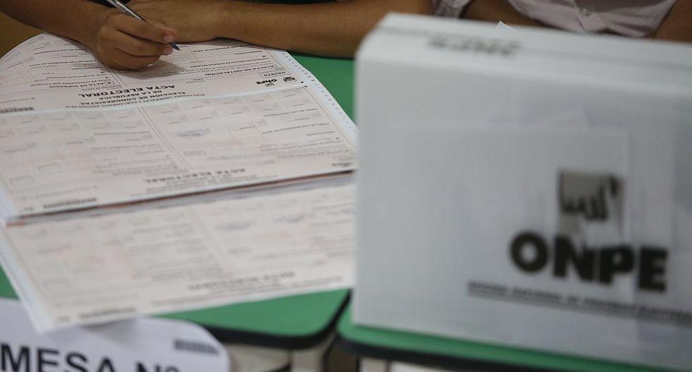 Las elecciones municipales y regionales se llevarán a cabo este 7 de octubre. (Foto: USI)