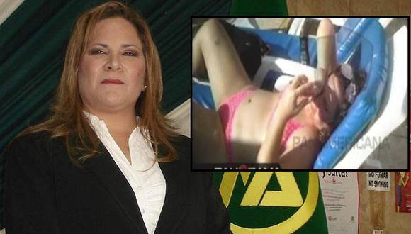 "Ex viceministra de Agricultura se defiende: ""Yo necesito descansar, soy un ser humano"". (USI/Panorama)"